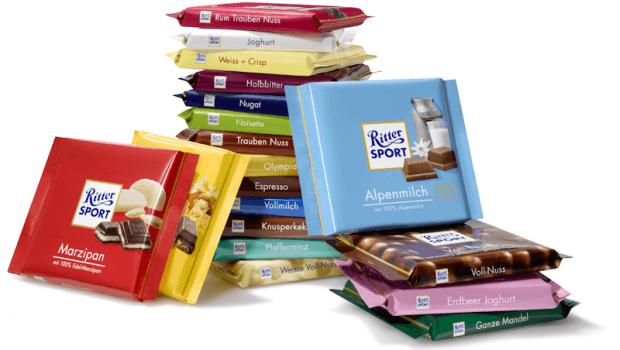 Ritter Sport: Chocolate Germany